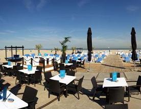 Pon da beach op 20 juni in Hoek van Holland
