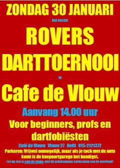 Rovers onder elkaar: Darten op de 30e
