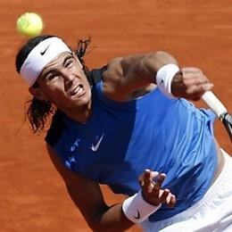 Knock-out: Hoeveel aces slaat Raphael Nadal?
