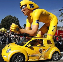 Tour de France: 20-puntengevaarlijk