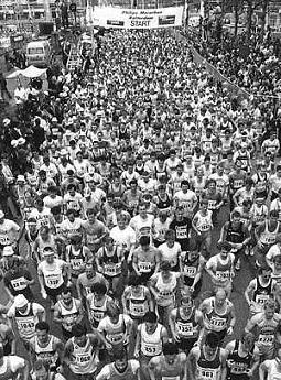 Elke meter telt in de Rotterdam Marathon