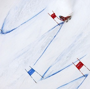 Slalommen in plaats van alle remmen los