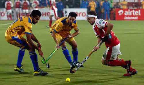 Hockey nieuwe stijl in India