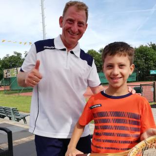 Gemengd Dubbel Tennis