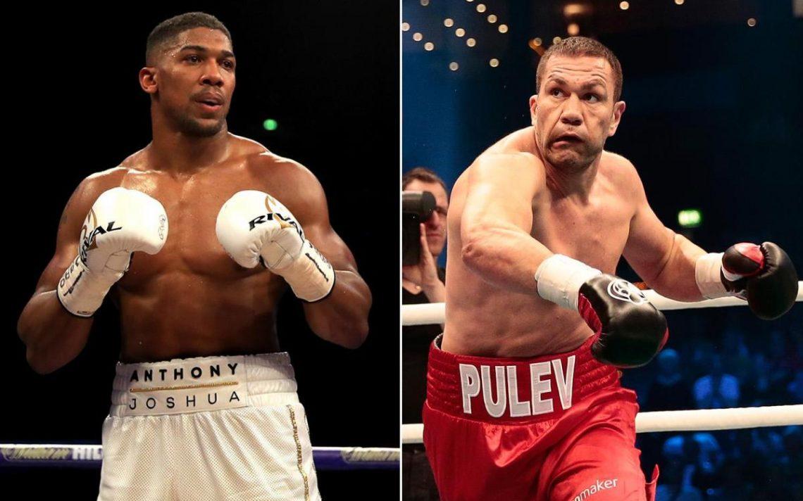 Joshua vs Pulev